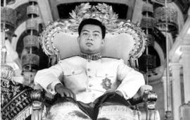 Passing of Norodom Sihanouk