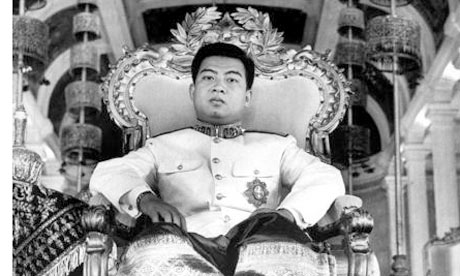 Passing of Norodom Sihanouk