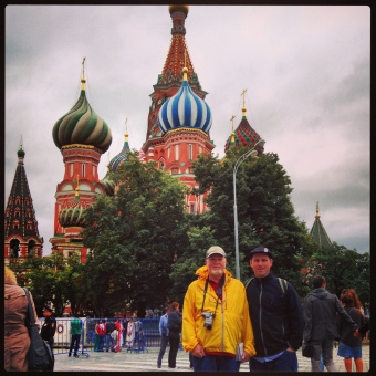 A Father and Son Voyage: Moscow