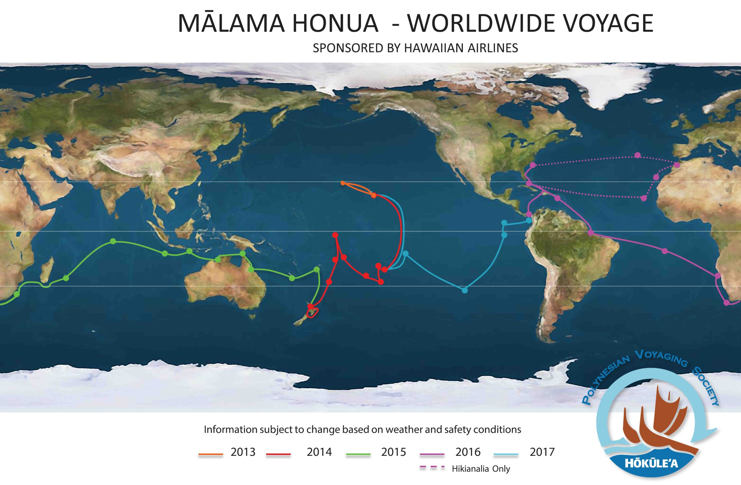Hōkūleʻa and Hikianala: The Adventure Begins