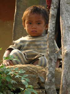 A Chepang boy in the lower mountains south of Kathmandu